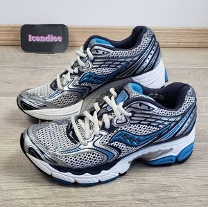 Saucony Running Race Guide 3 Shoes Blue Silver